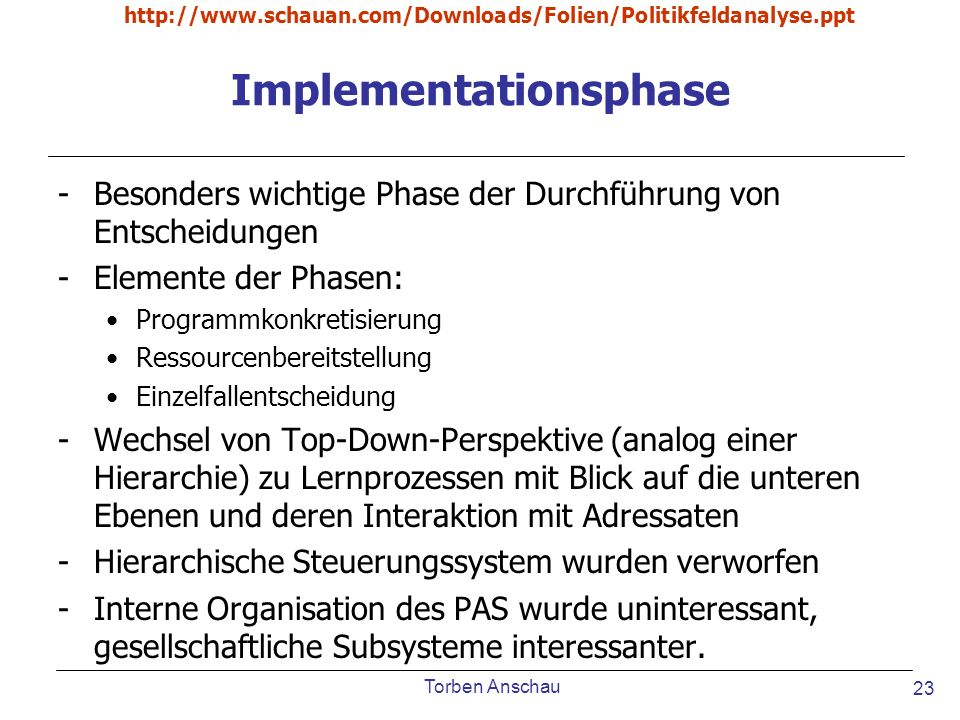 Implementationsphase