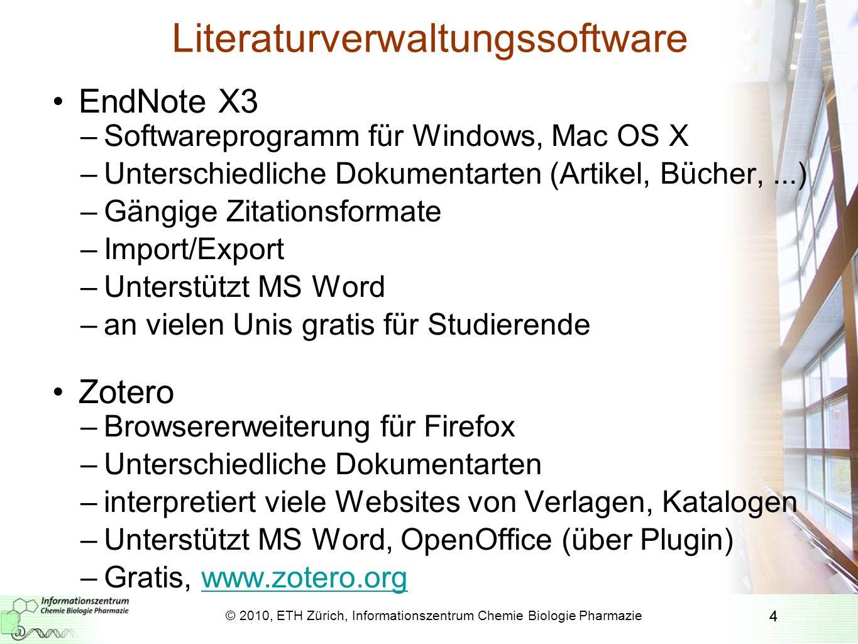Literaturverwaltungssoftware