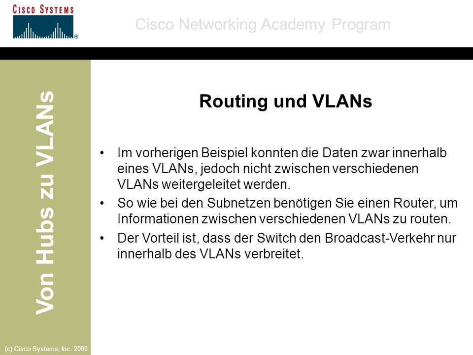 Routing und VLANs