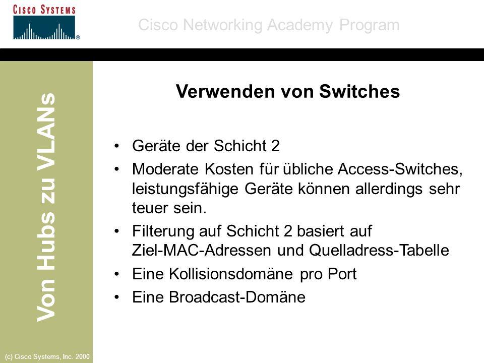 Verwenden von Switches