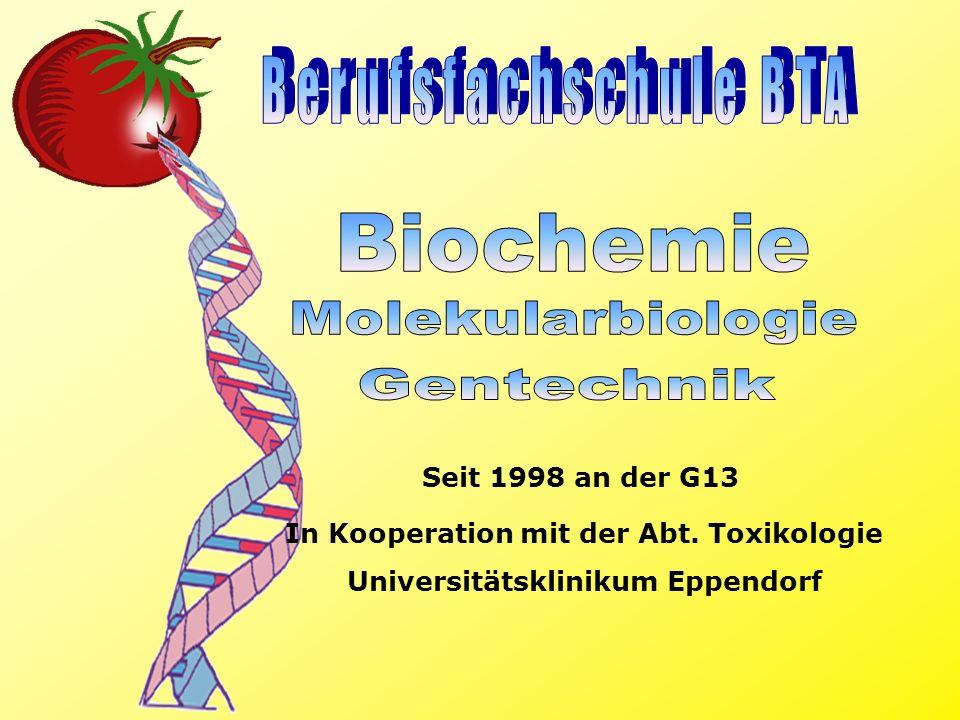 In Kooperation mit der Abt. Toxikologie Universitätsklinikum Eppendorf