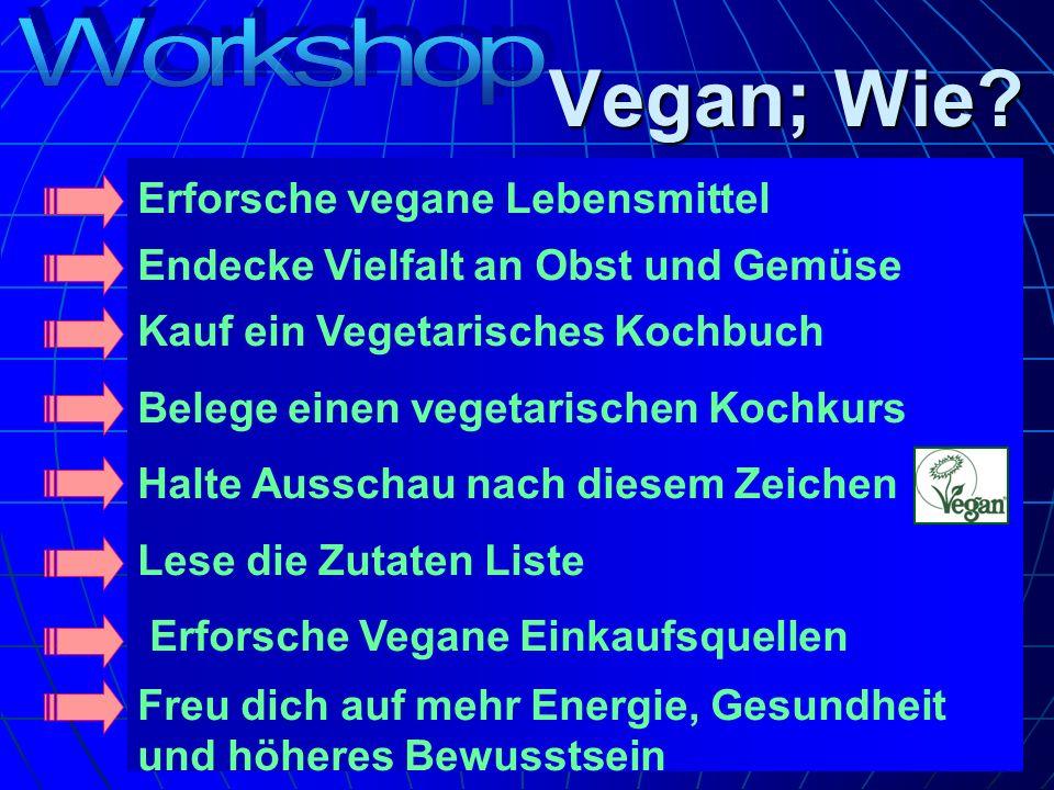 Vegan; Wie Workshop Erforsche vegane Lebensmittel
