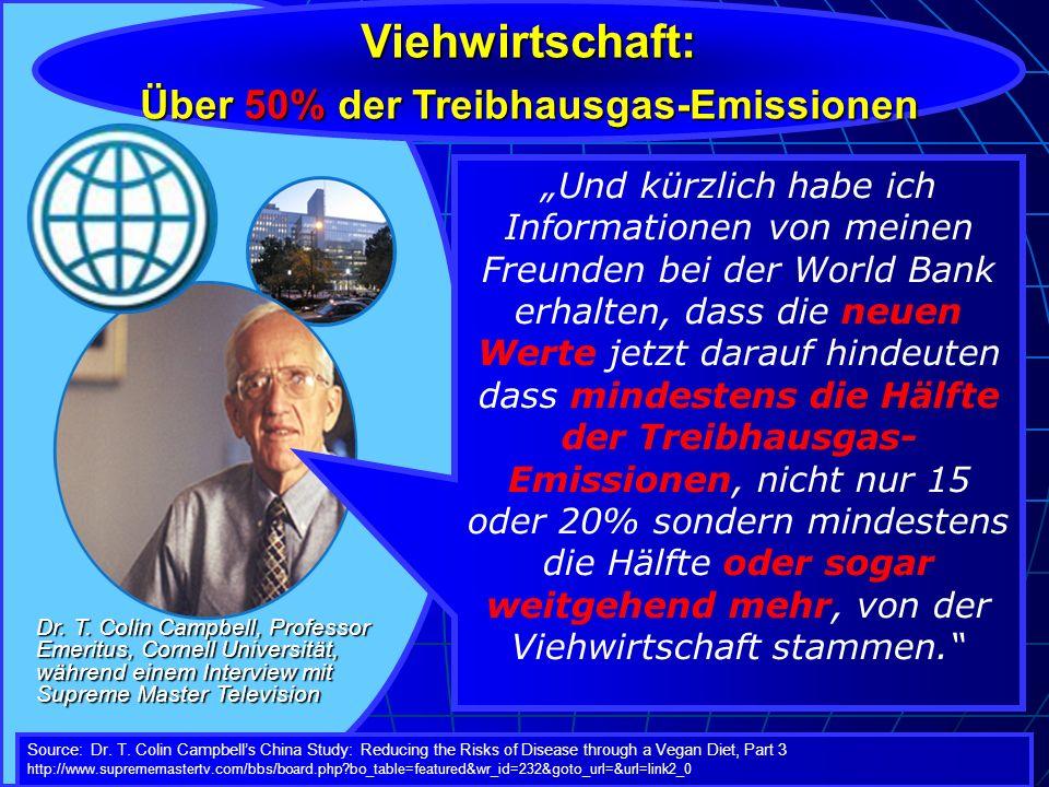 Über 50% der Treibhausgas-Emissionen