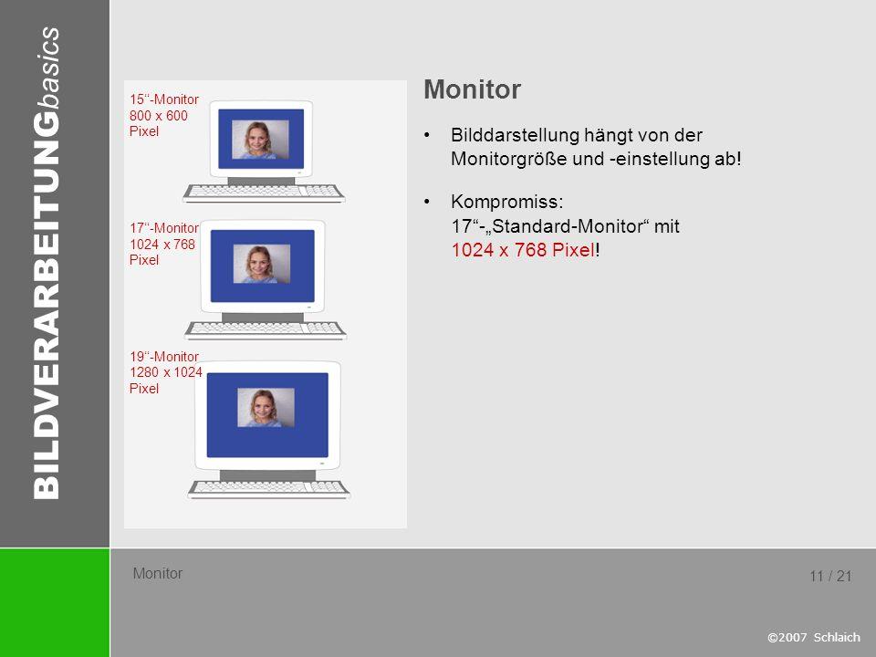"""Monitor Bilddarstellung hängt von der Monitorgröße und -einstellung ab! Kompromiss: 17 -""""Standard-Monitor mit 1024 x 768 Pixel!"""
