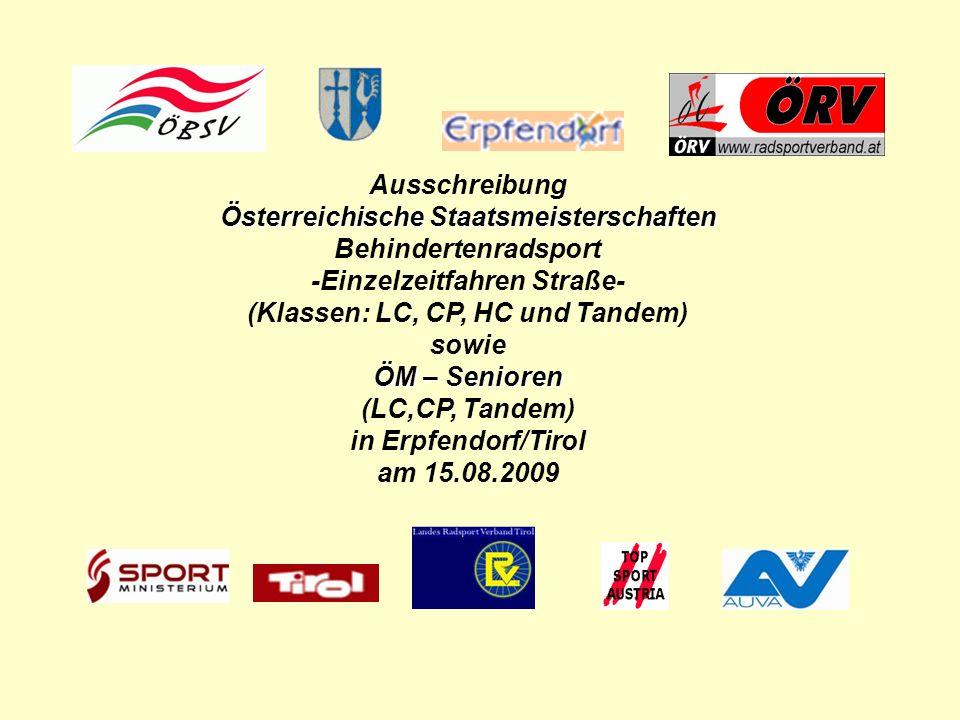 Österreichische Staatsmeisterschaften Behindertenradsport