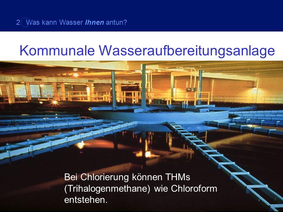 Kommunale Wasseraufbereitungsanlage