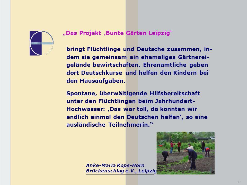 """""""Das Projekt 'Bunte Gärten Leipzig'"""