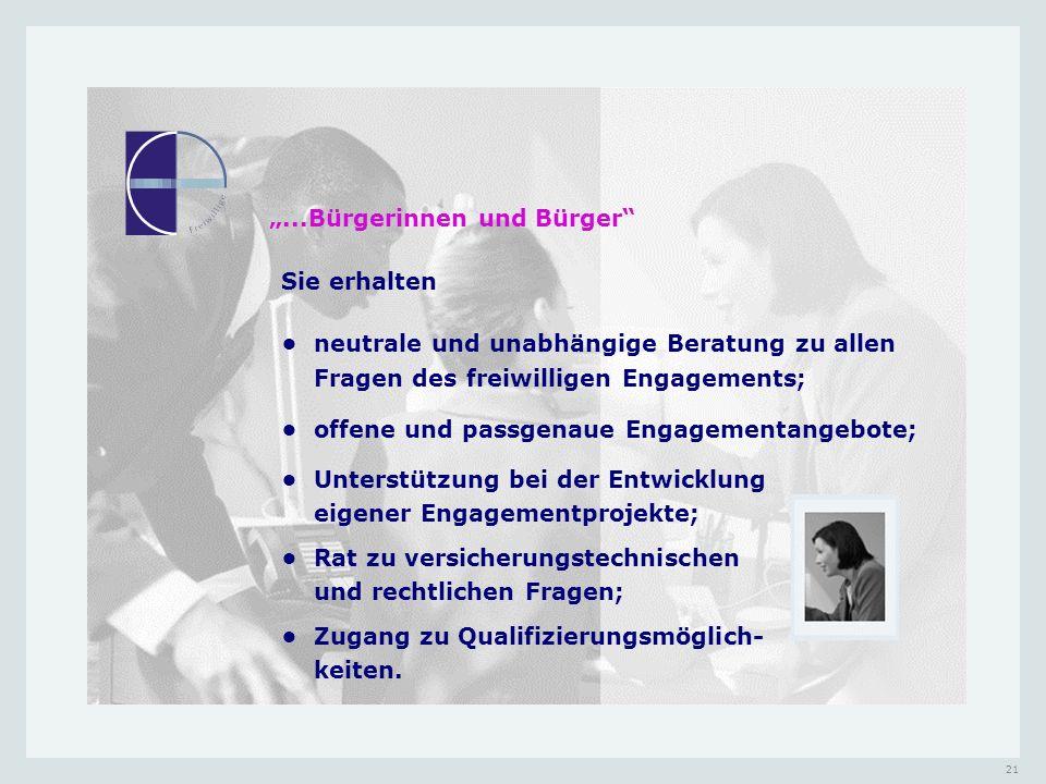"""""""...Bürgerinnen und Bürger"""