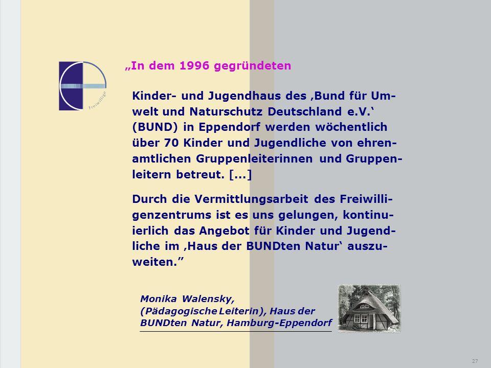 """""""In dem 1996 gegründeten"""