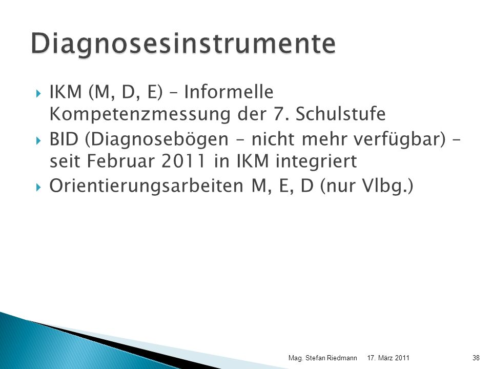 Diagnosesinstrumente