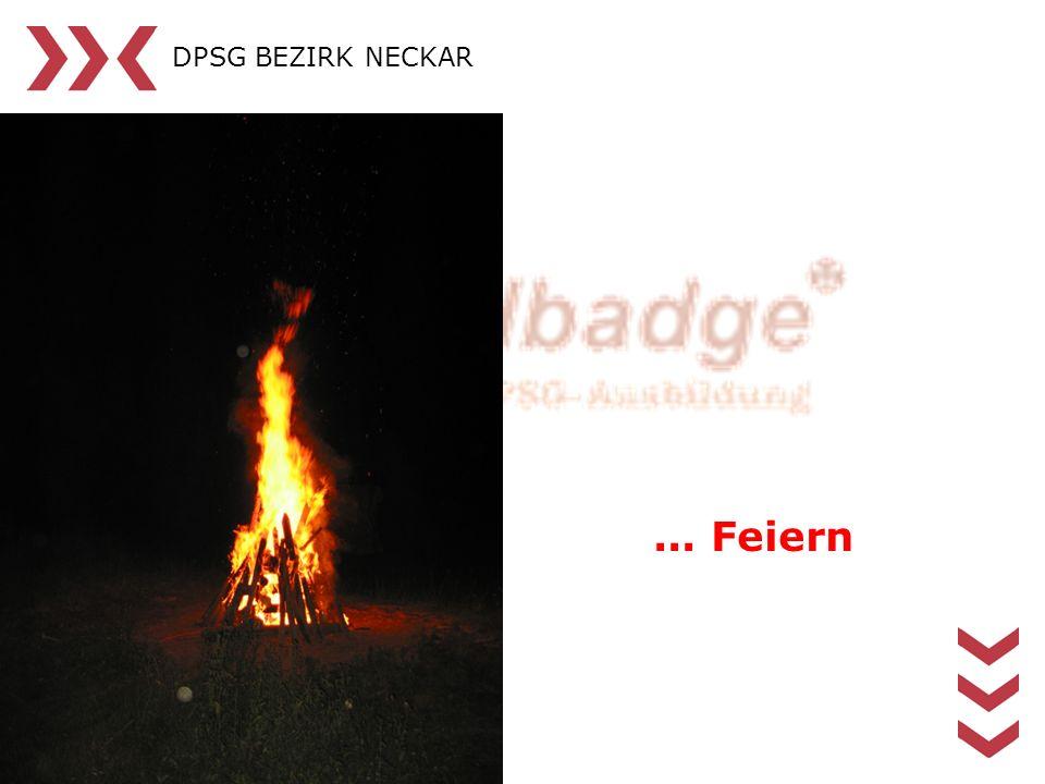 DPSG BEZIRK NECKAR ... Feiern