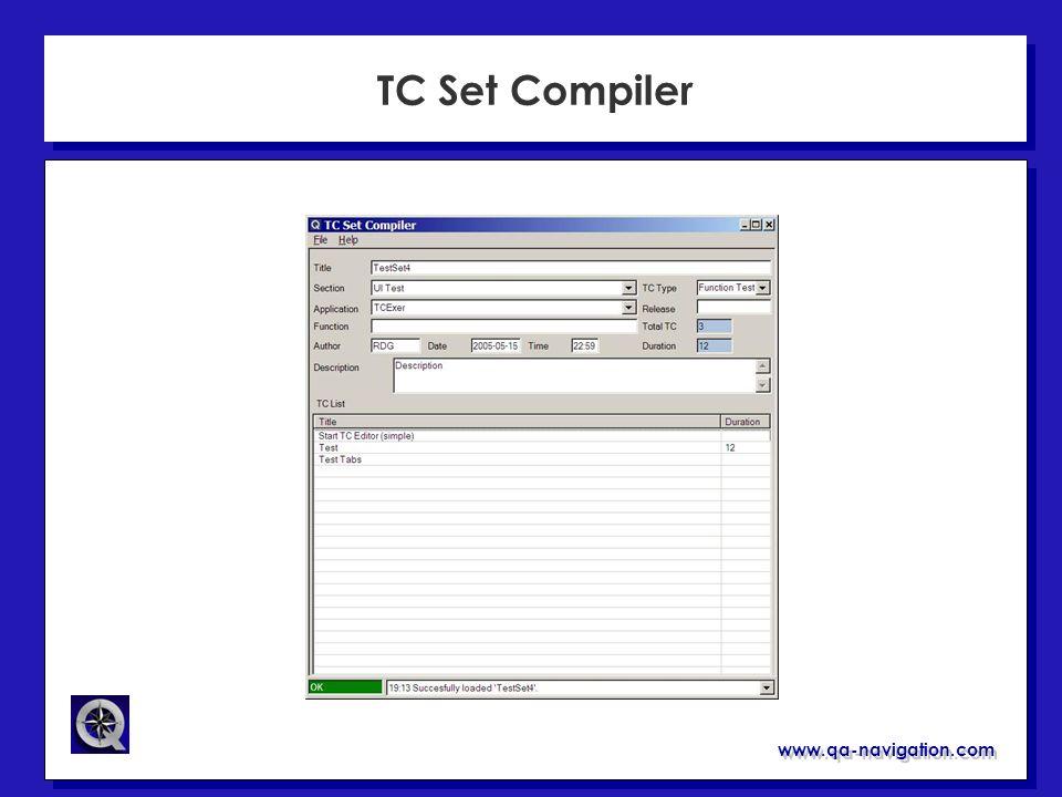 TC Set Compiler