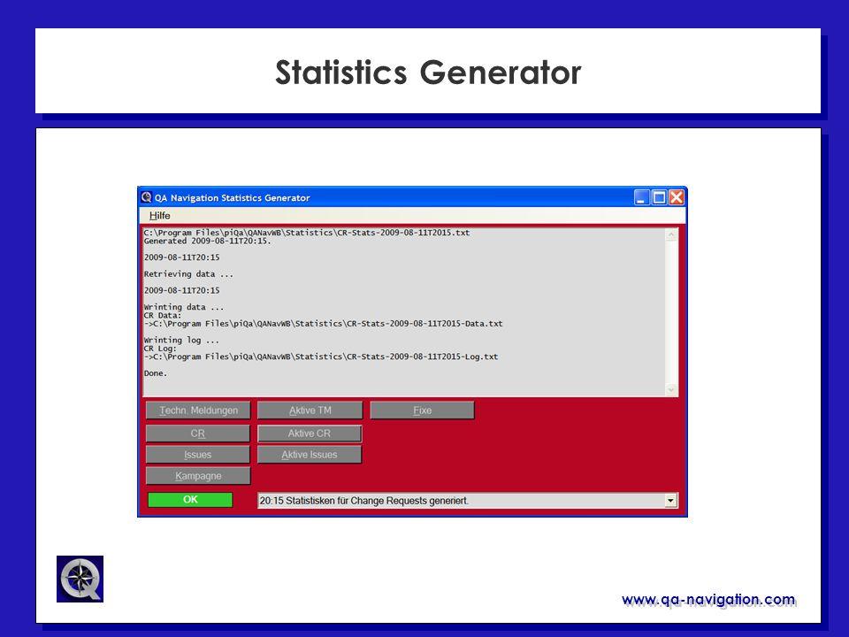 Statistics Generator