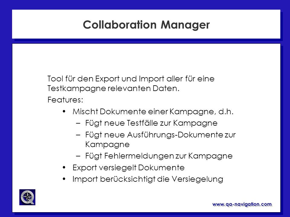 Collaboration Manager