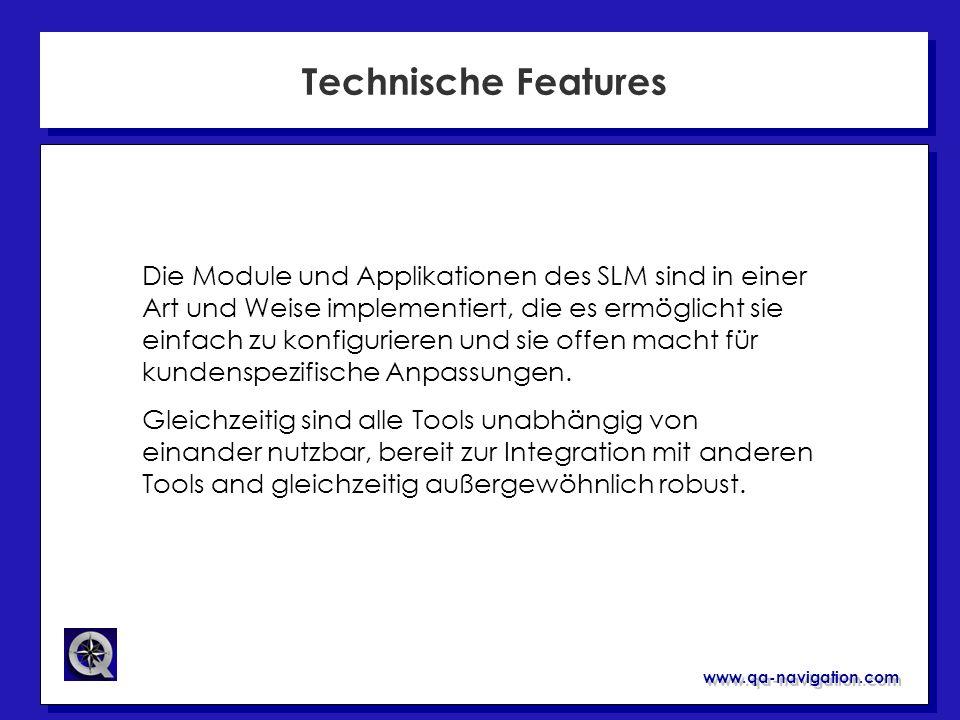 Technische Features