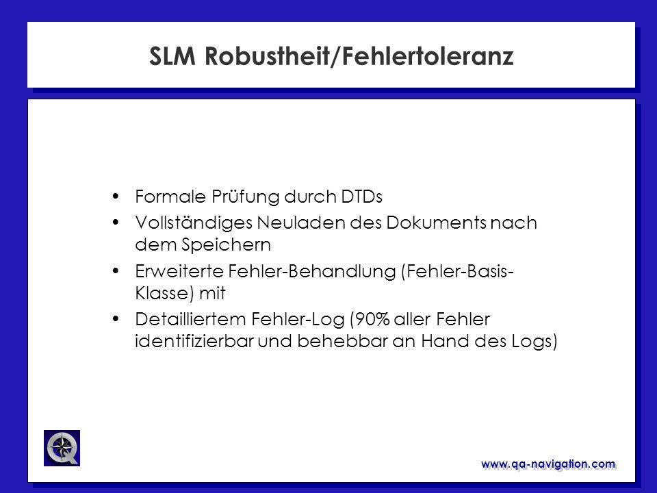 SLM Robustheit/Fehlertoleranz