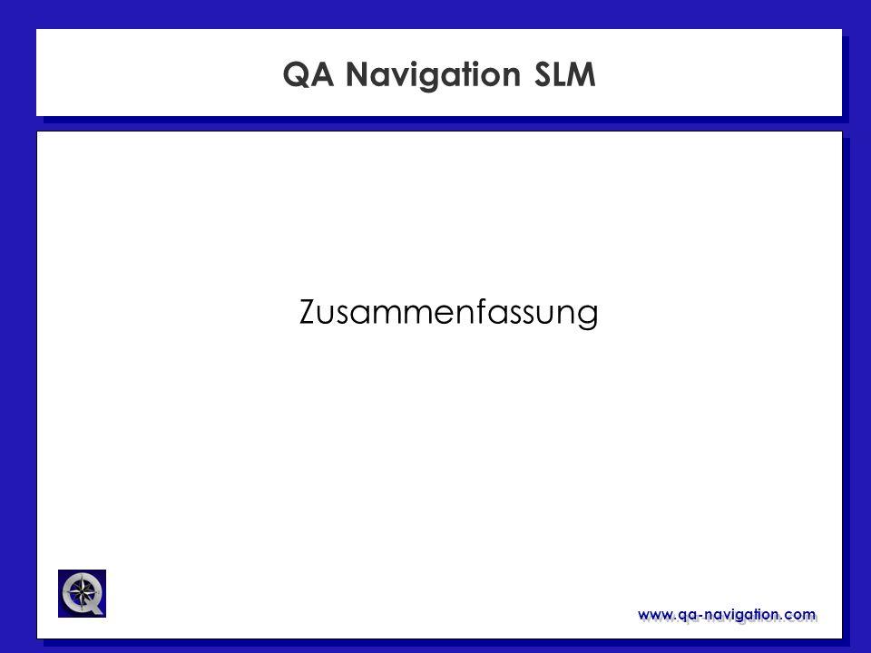 QA Navigation SLM Zusammenfassung