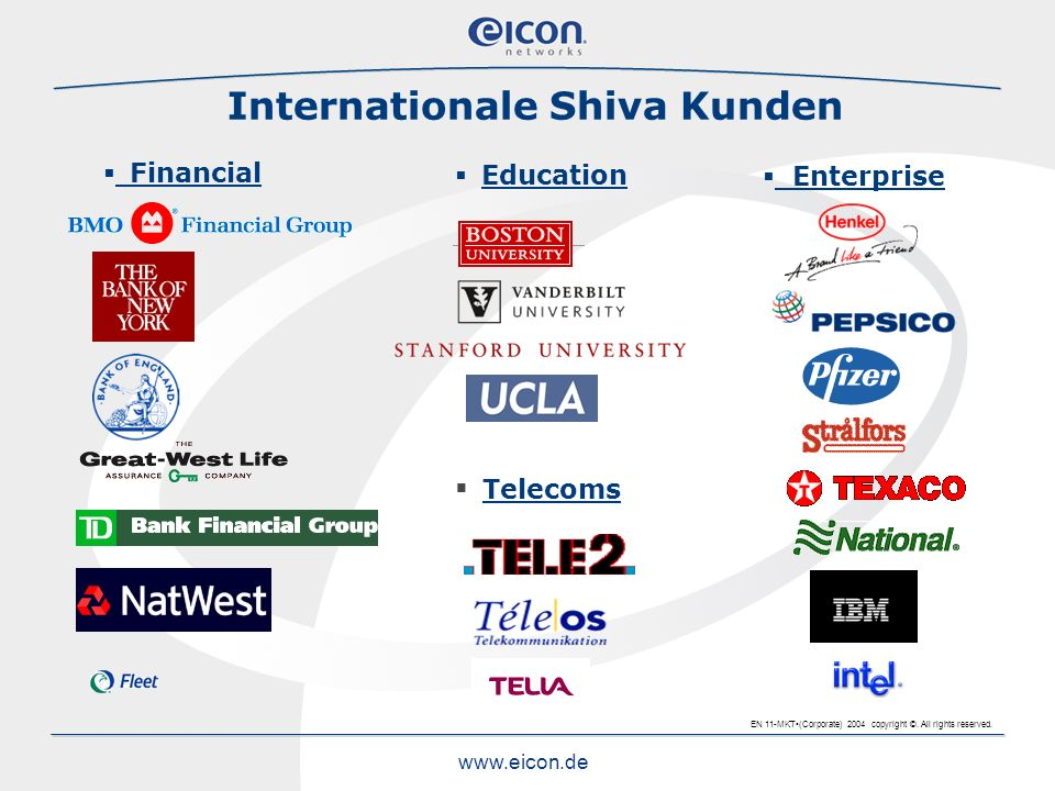 Internationale Shiva Kunden