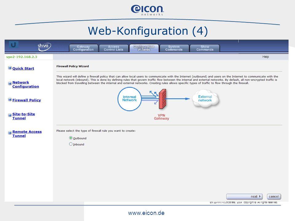 Web-Konfiguration (4)