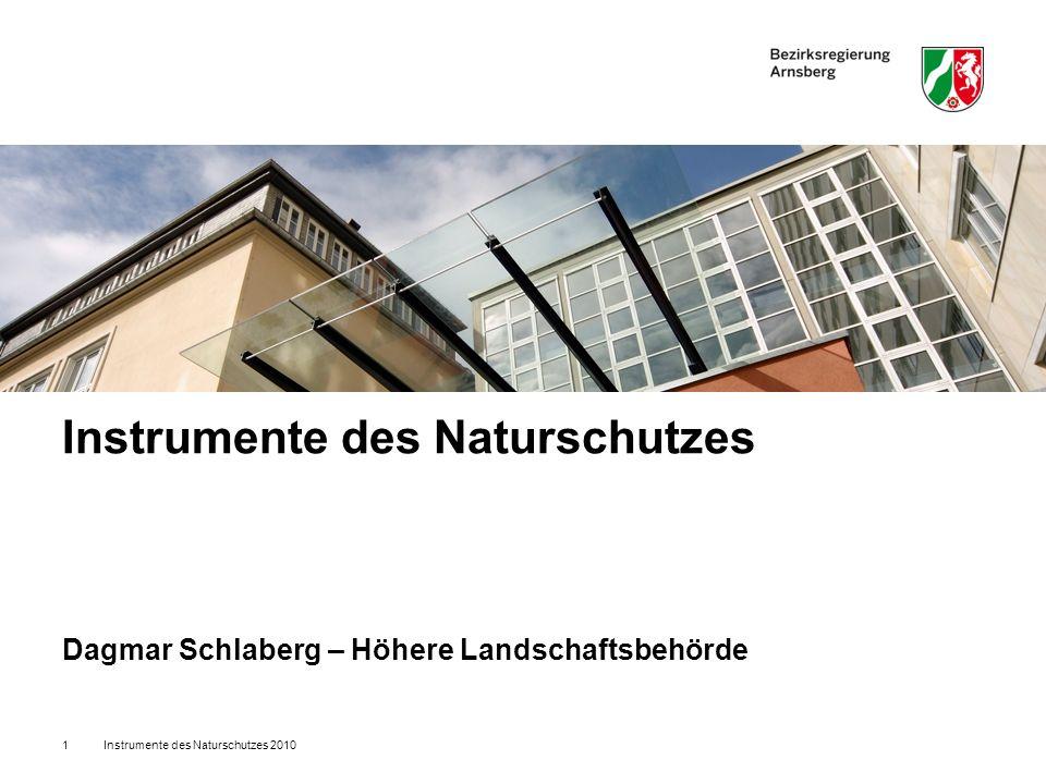 Instrumente des Naturschutzes