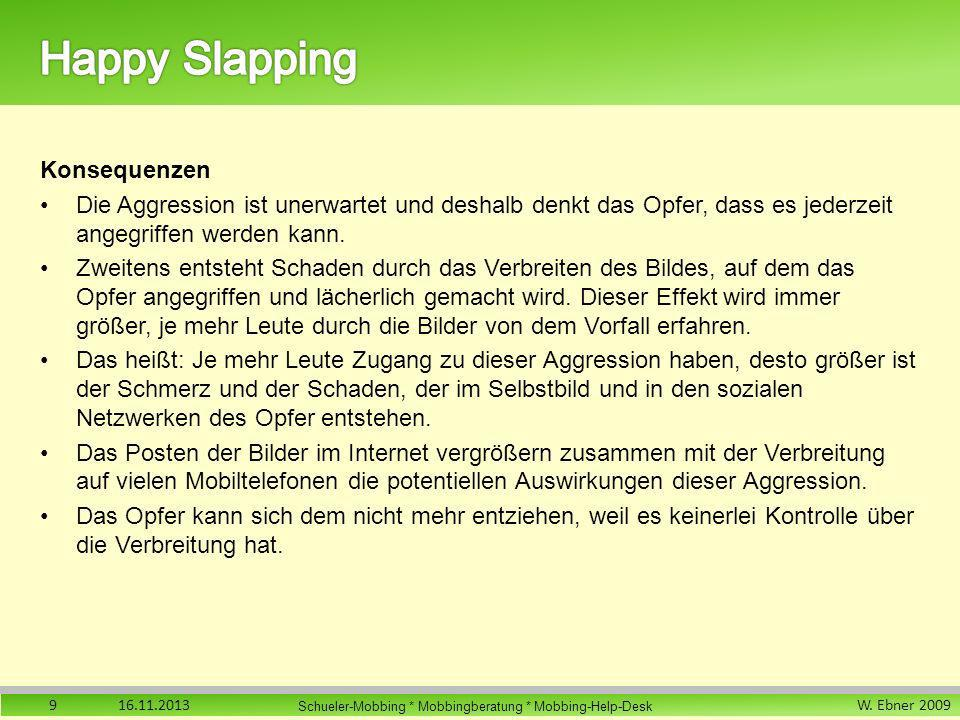 Happy Slapping Konsequenzen