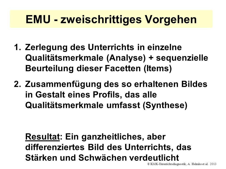 EMU - zweischrittiges Vorgehen