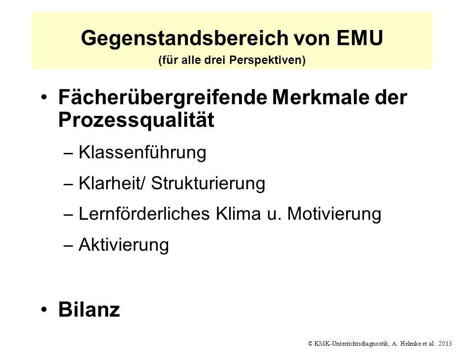 Gegenstandsbereich von EMU (für alle drei Perspektiven)