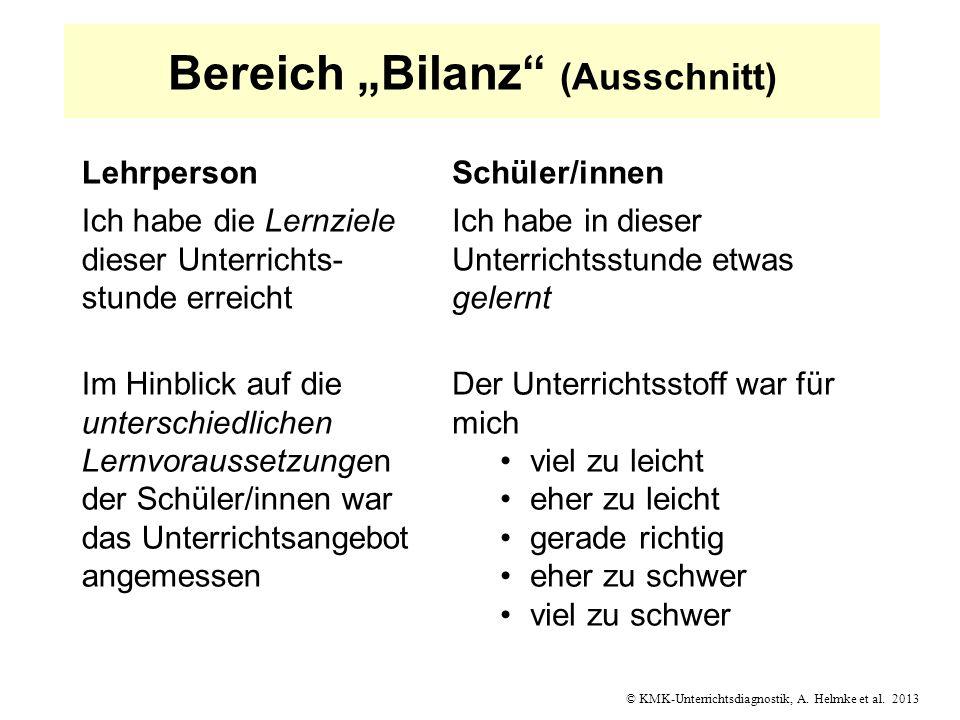"""Bereich """"Bilanz (Ausschnitt)"""