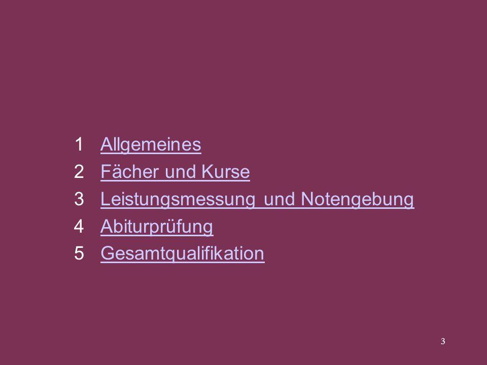 1 Allgemeines2 Fächer und Kurse.3 Leistungsmessung und Notengebung.