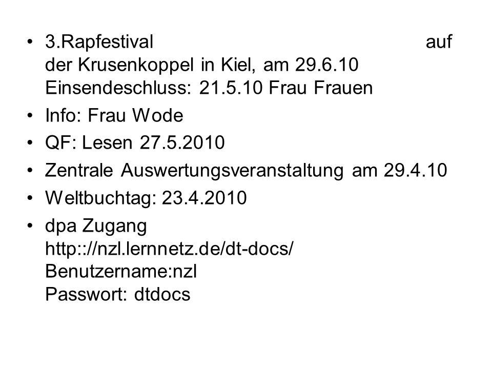 3. Rapfestival auf der Krusenkoppel in Kiel, am 29. 6