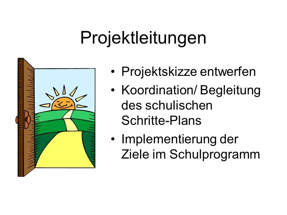 Projektleitungen Projektskizze entwerfen