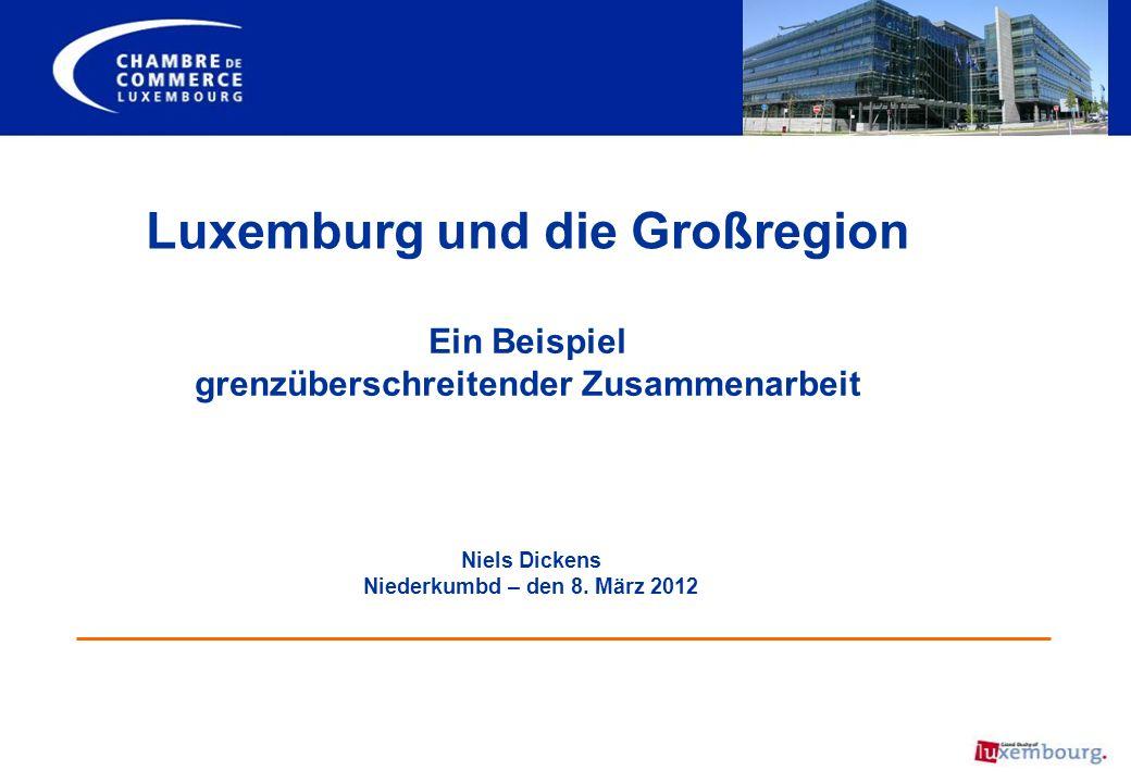 Luxemburg und die Großregion grenzüberschreitender Zusammenarbeit