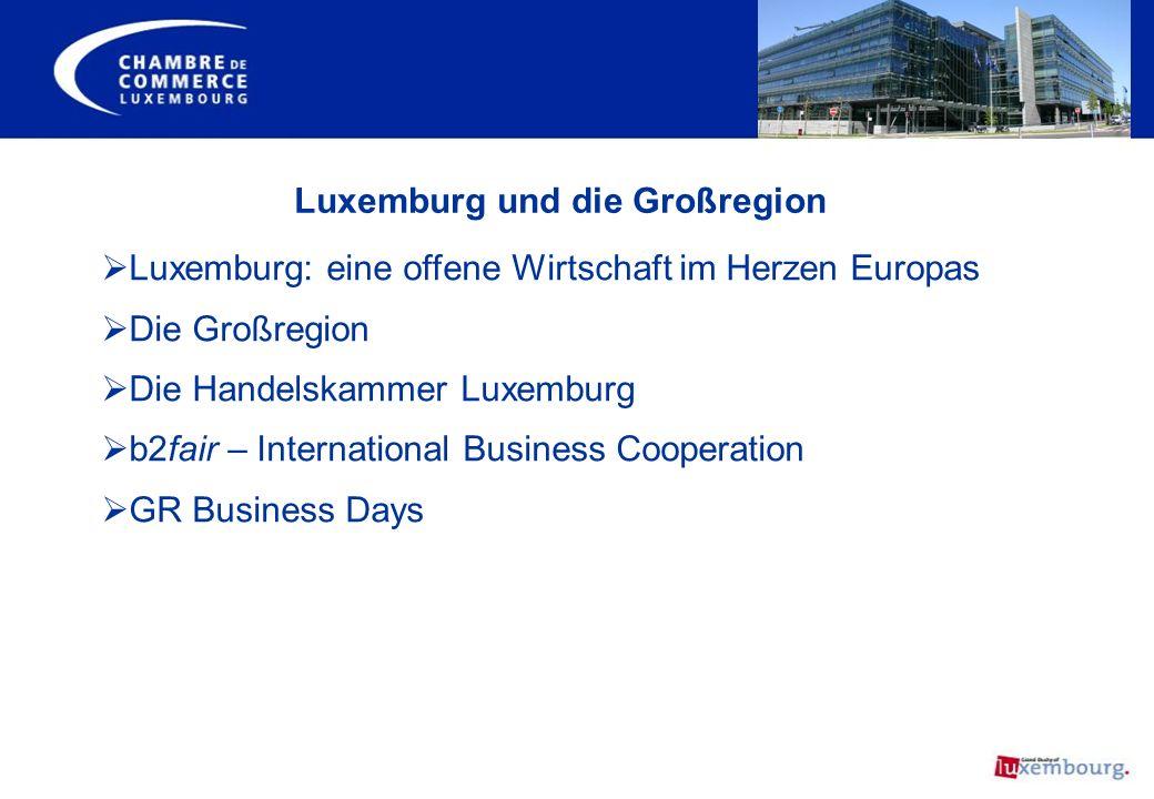 Luxemburg und die Großregion