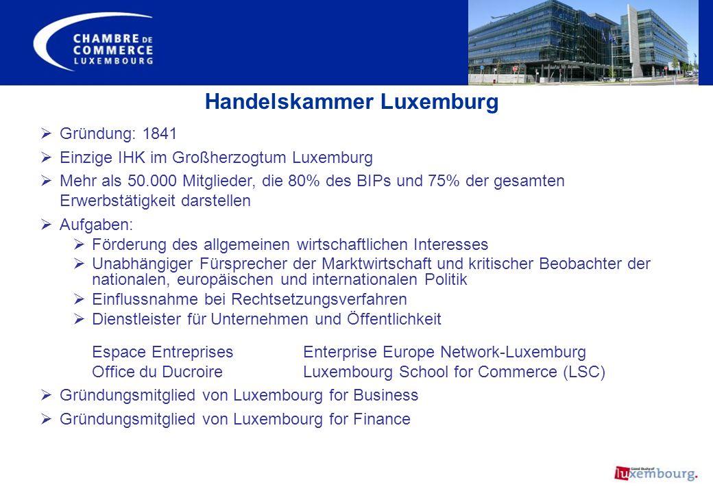Handelskammer Luxemburg