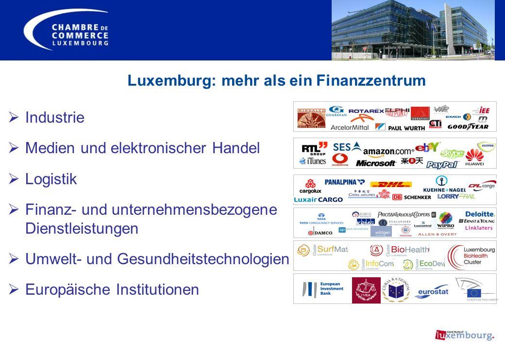 Luxemburg: mehr als ein Finanzzentrum