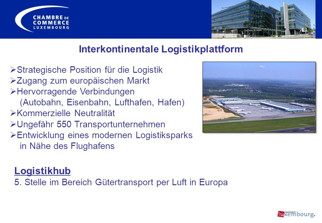 Interkontinentale Logistikplattform