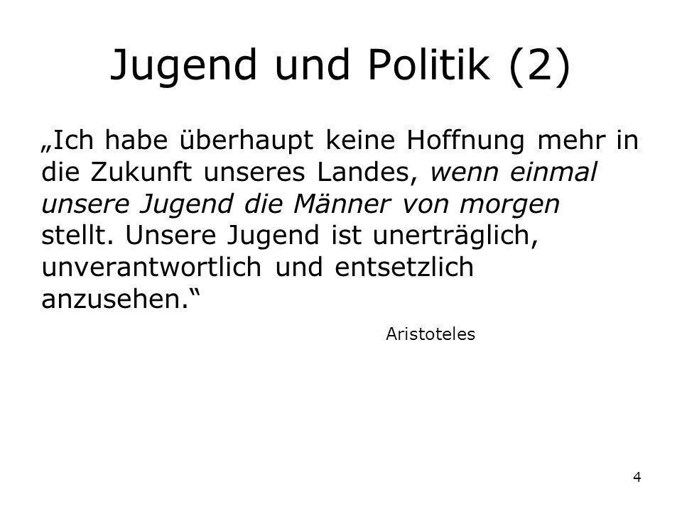 Jugend und Politik (2)