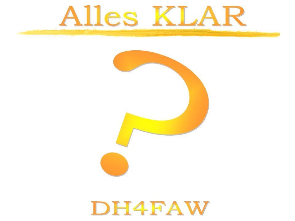 Alles KLAR DH4FAW