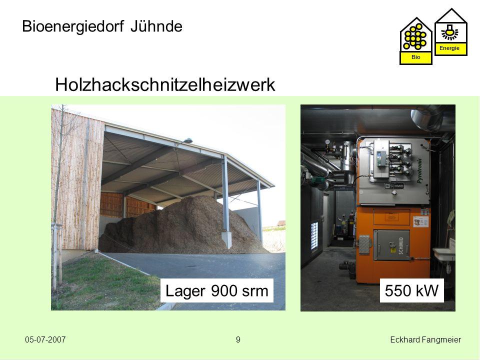 Holzhackschnitzelheizwerk