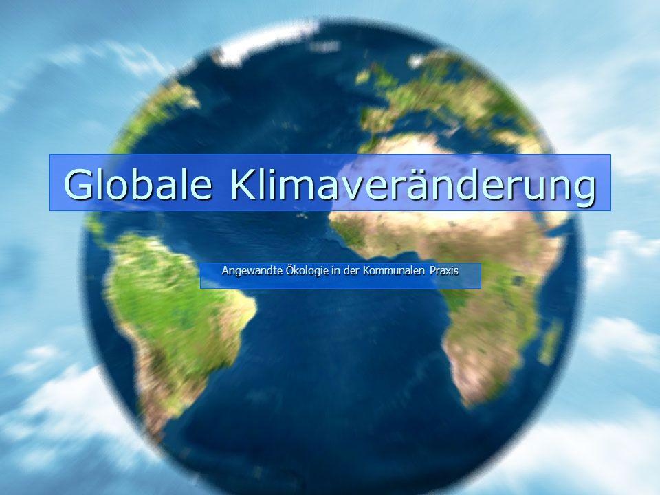 Globale Klimaveränderung
