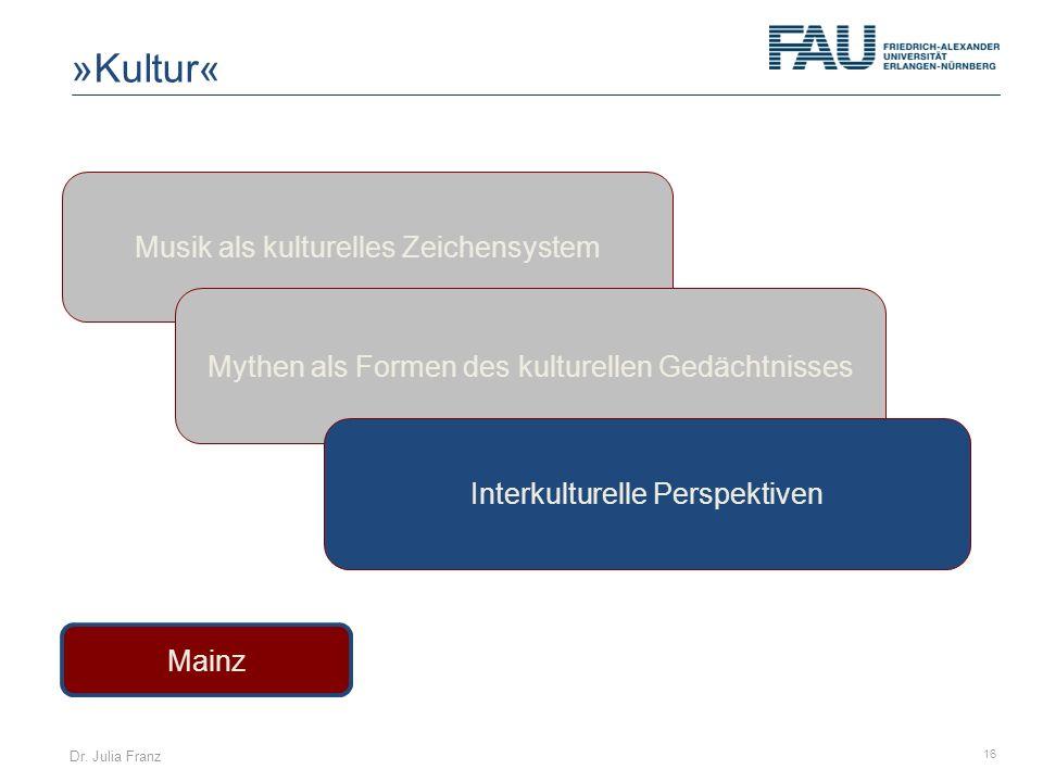 »Kultur« Musik als kulturelles Zeichensystem