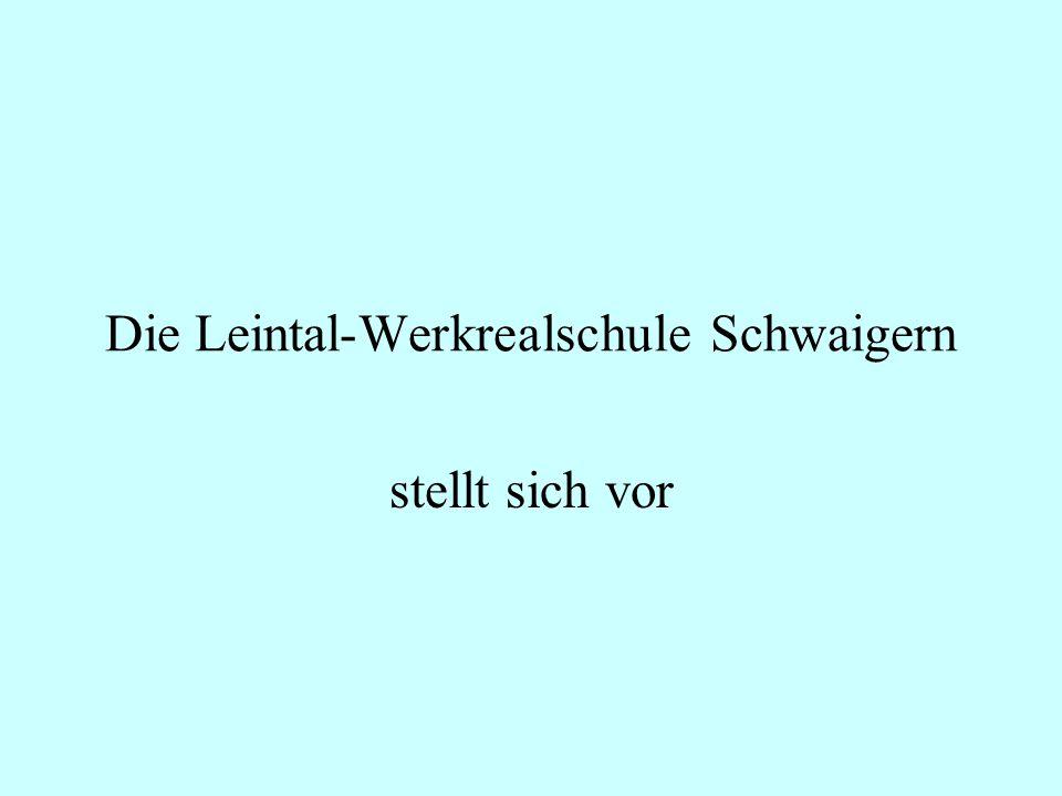 Die Leintal-Werkrealschule Schwaigern