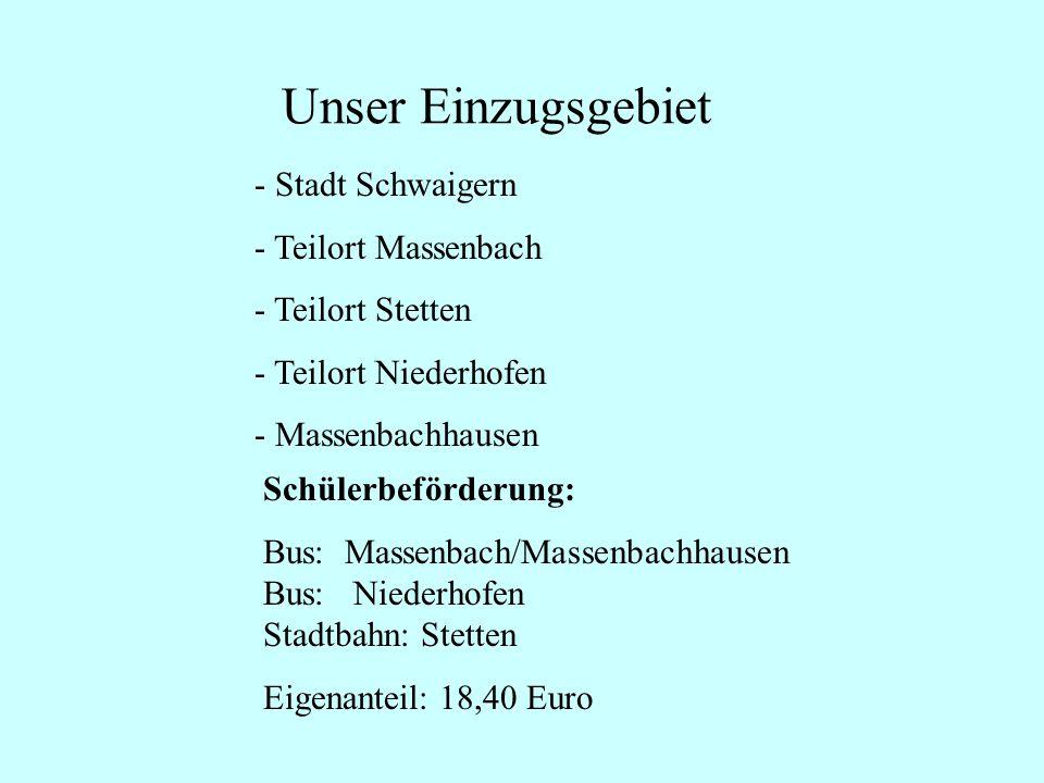 Unser Einzugsgebiet Stadt Schwaigern Teilort Massenbach