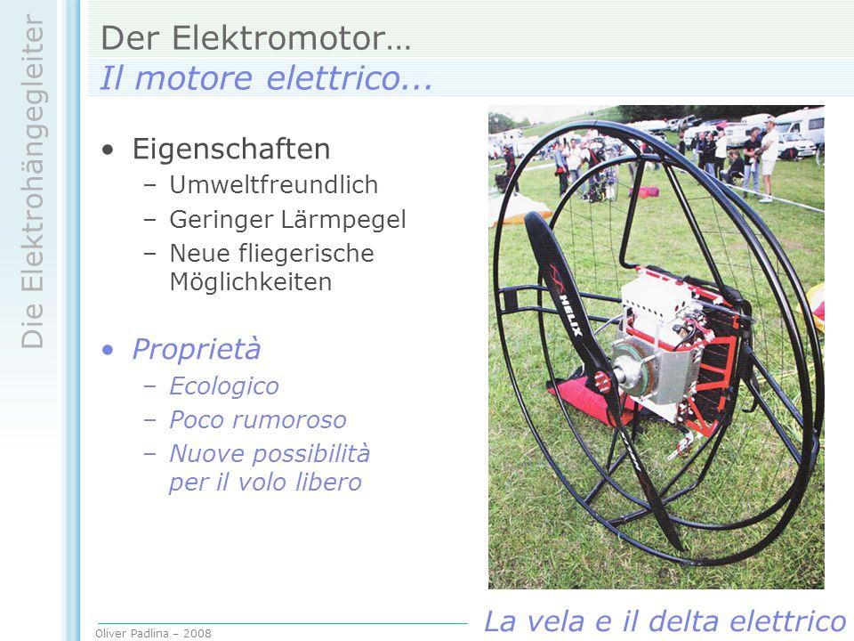 Der Elektromotor… Il motore elettrico...