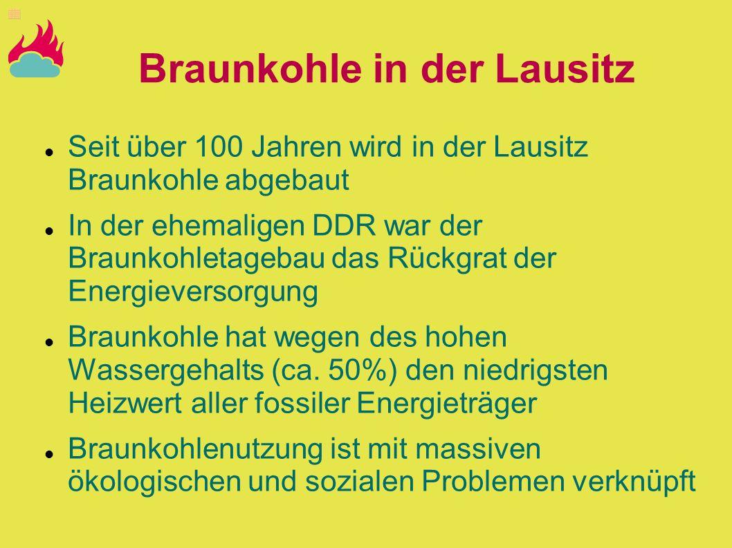Braunkohle in der Lausitz
