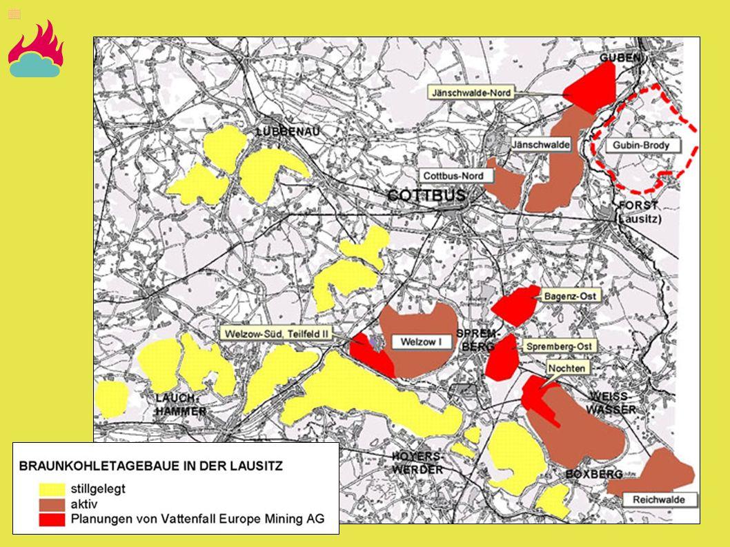 Der Tagebau Welzow Süd ist gerade in der Genehmigungsphase