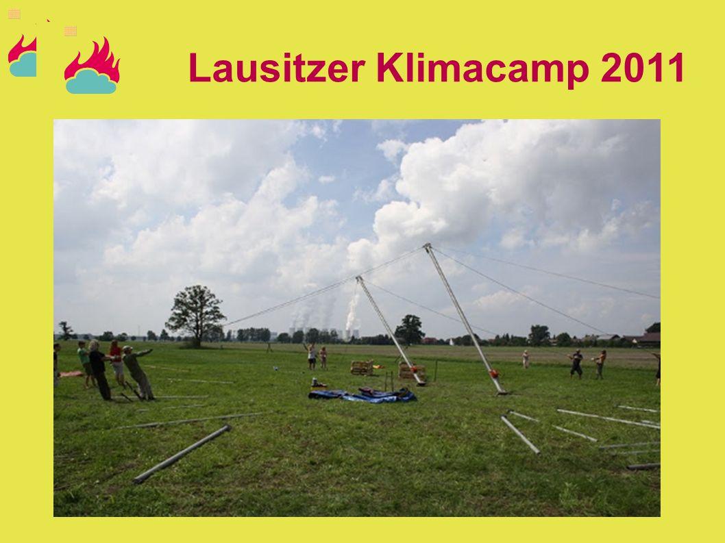 Lausitzer Klimacamp 2011