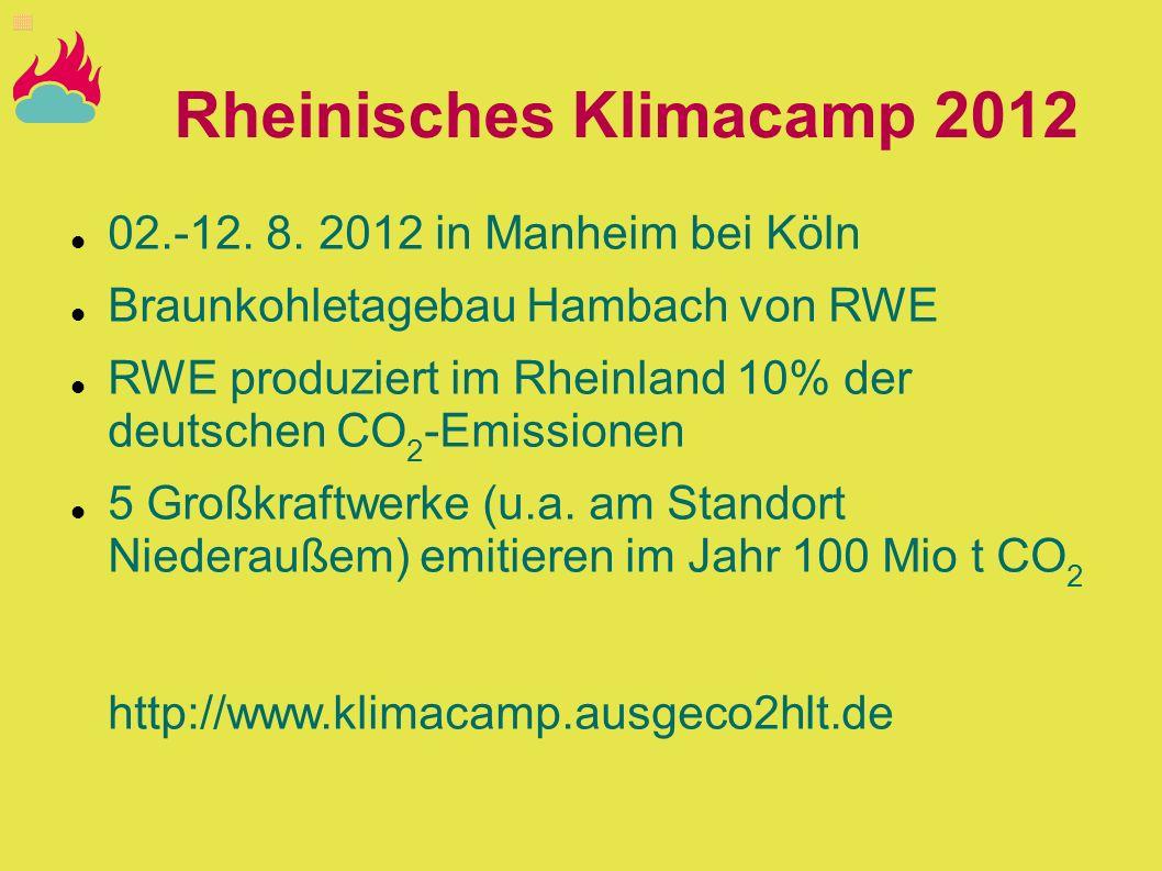 Rheinisches Klimacamp 2012