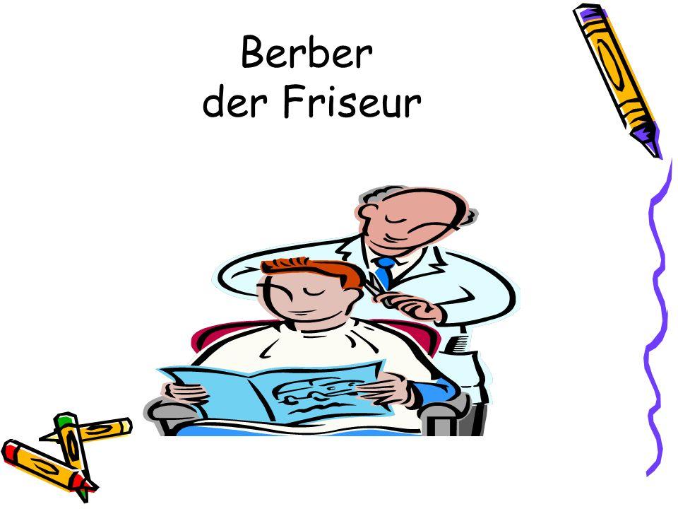 Berber der Friseur
