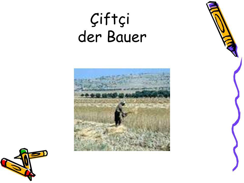 Çiftçi der Bauer